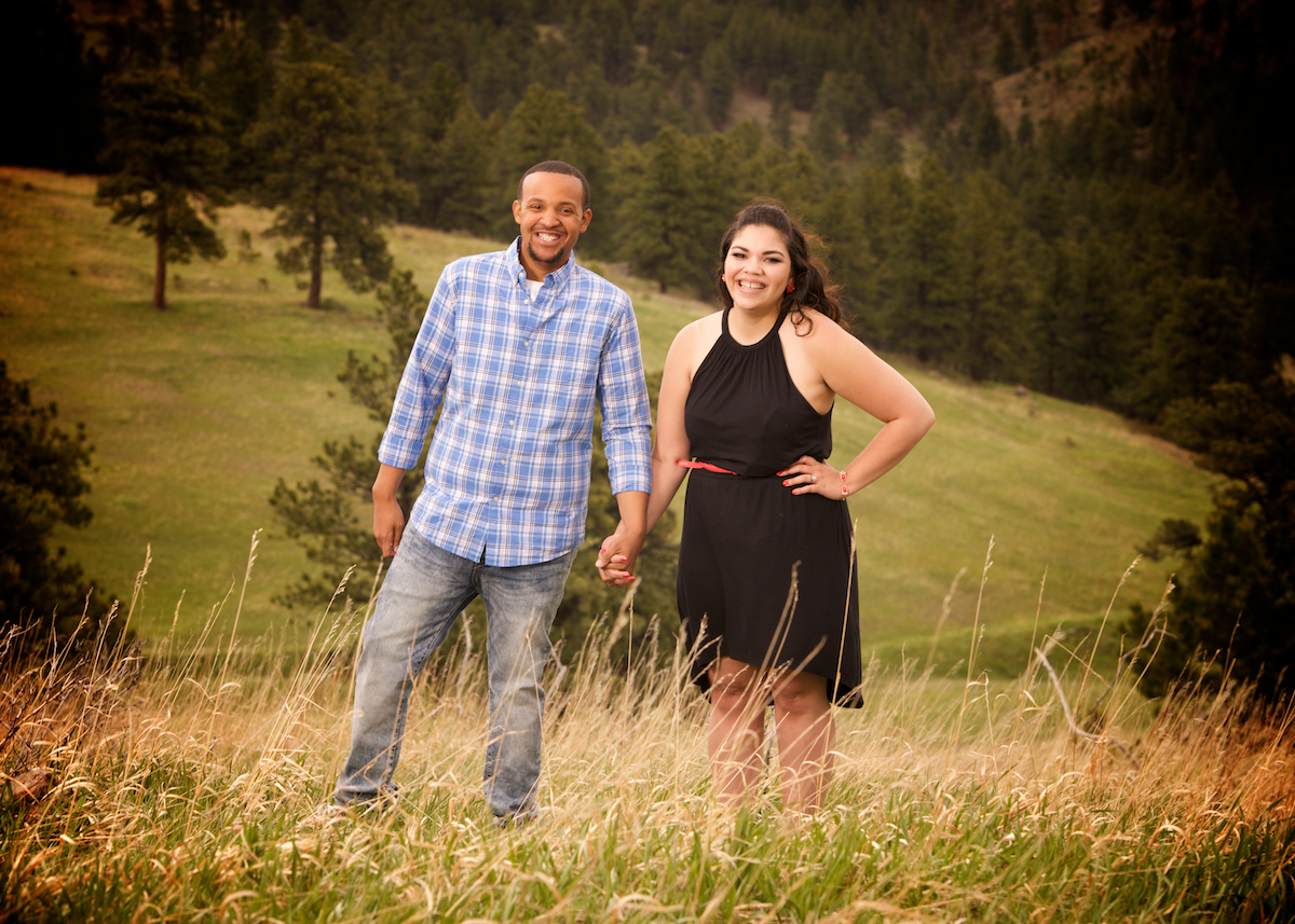 white-ranch-park-golden-colorado-outdoor-photojournalistic-engagement-photography-holding-hands-smiling-vibrant-natural
