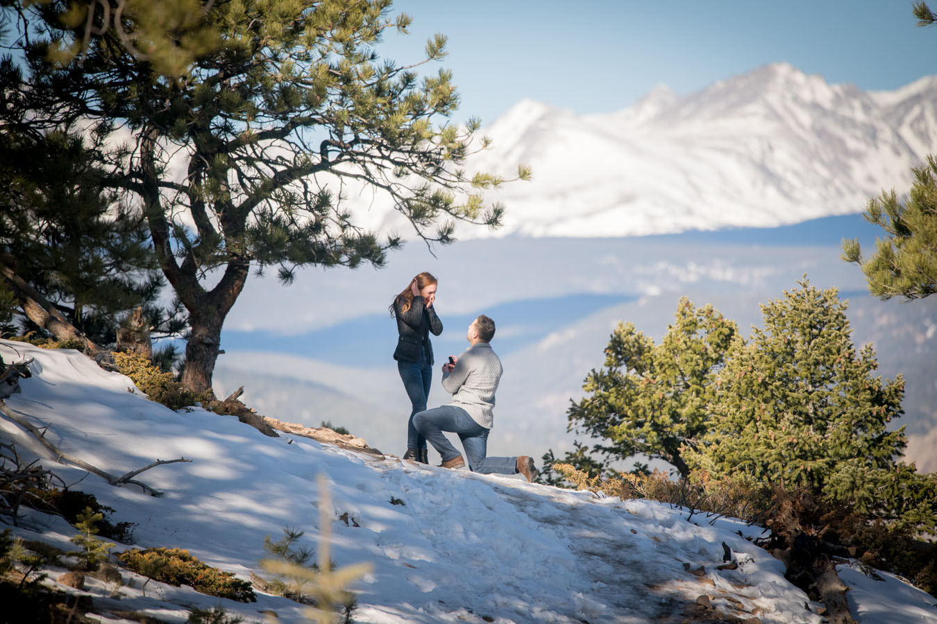 Proposal | Lost Gulch Overlook Trail | Winter | Boulder