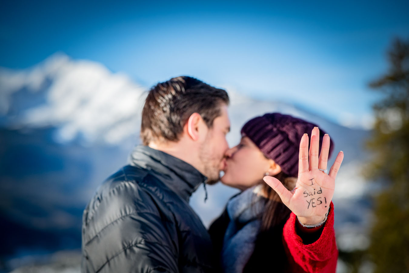 Proposal | December | Sapphire Point Overlook | Dillon, CO