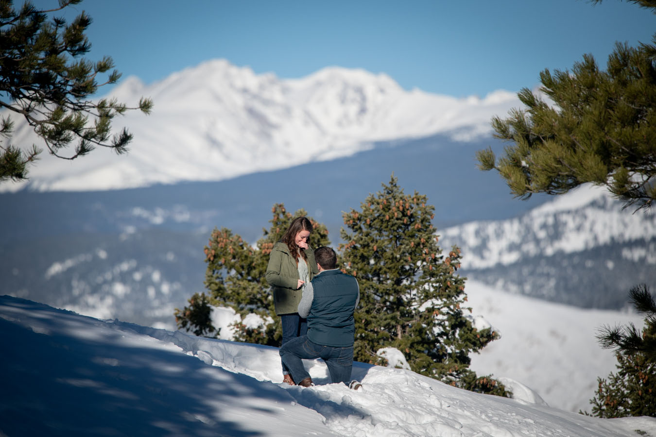 Proposal | Lost Gulch Overlook | Winter | Boulder, CO