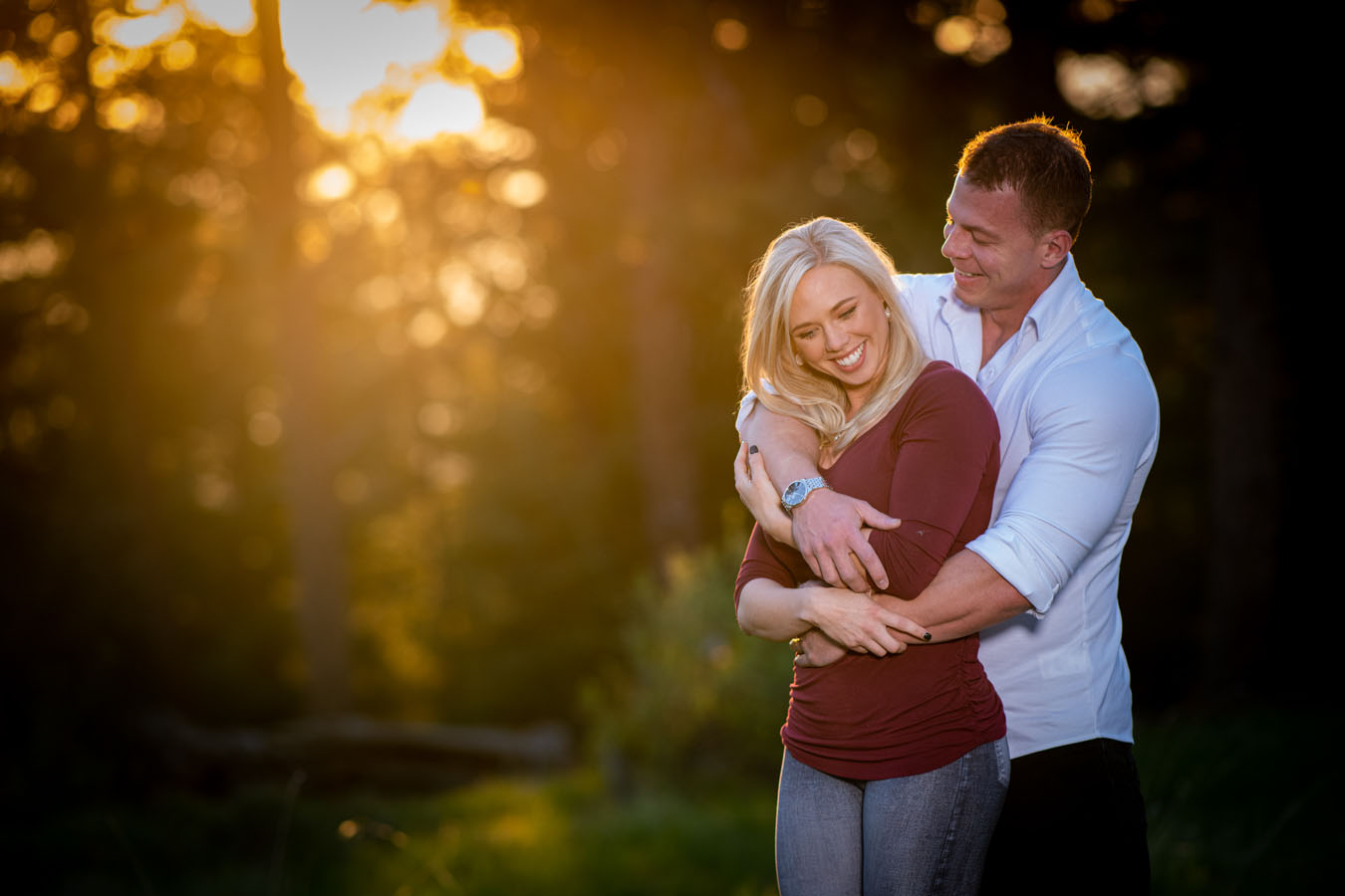 Mount Falcon Park Engagement | Spring | Sunrise